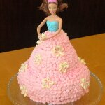 How to make a Barbie Cake - It's easier than you think!